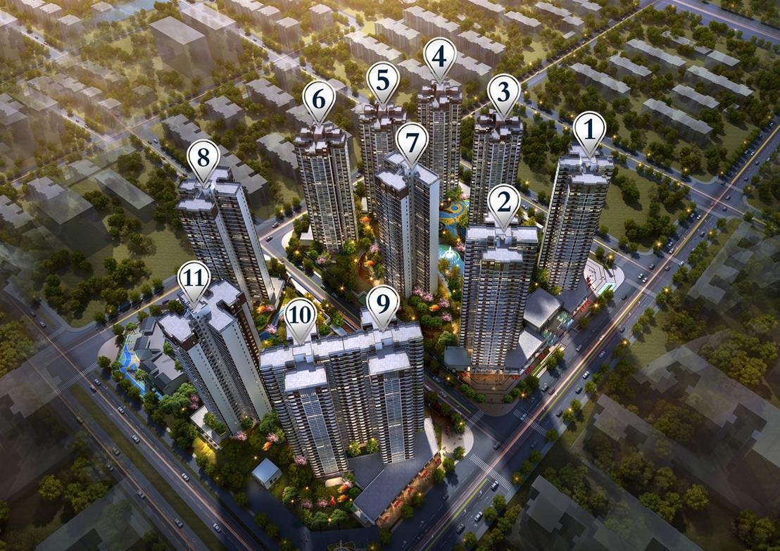 中国铁建海悦国际规划图