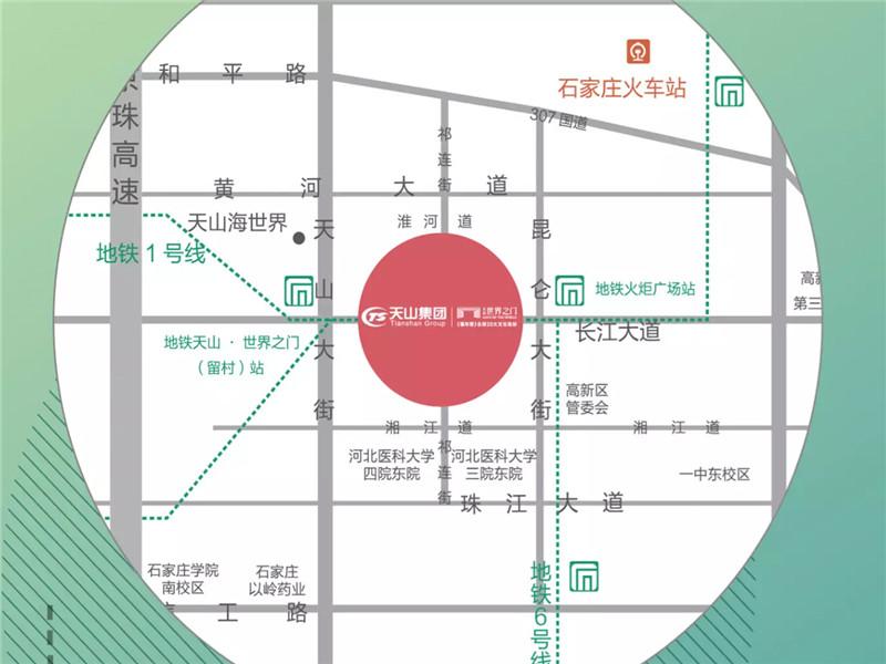 世界壹號交通图