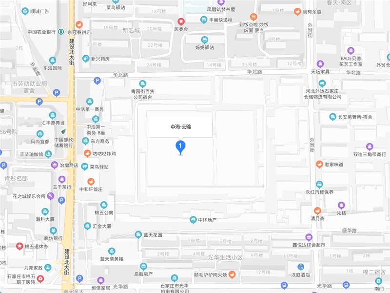 中海云锦交通图