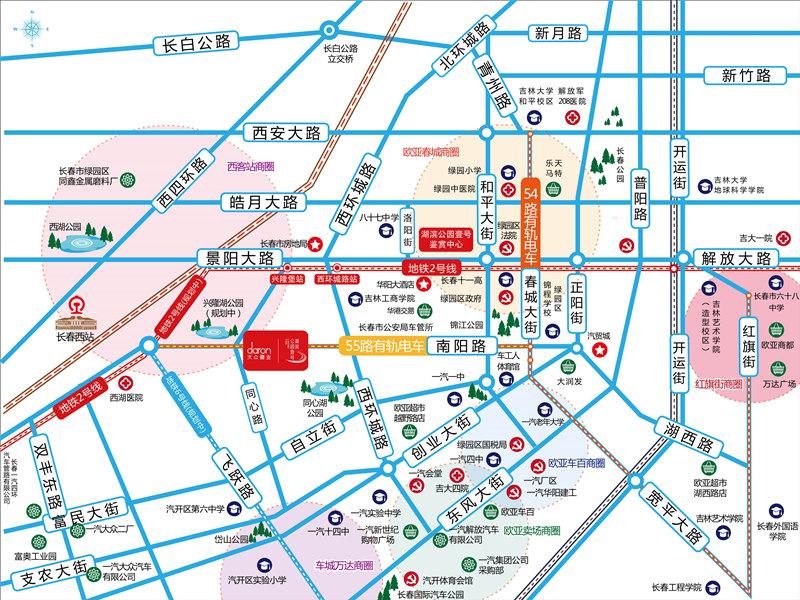 大众湖滨公园壹号交通图