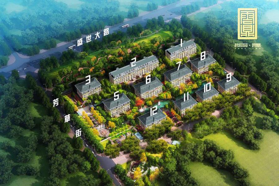 翠园春晓规划建设6-8层洋房产品 价格待定