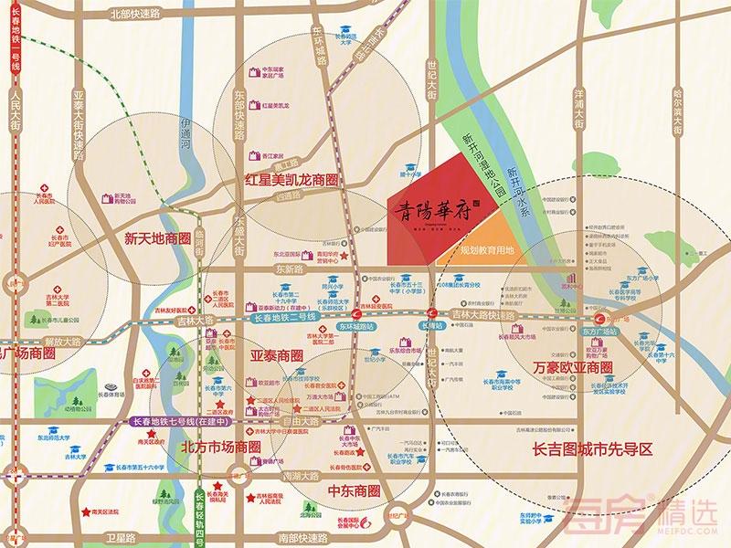 青阳华府交通图