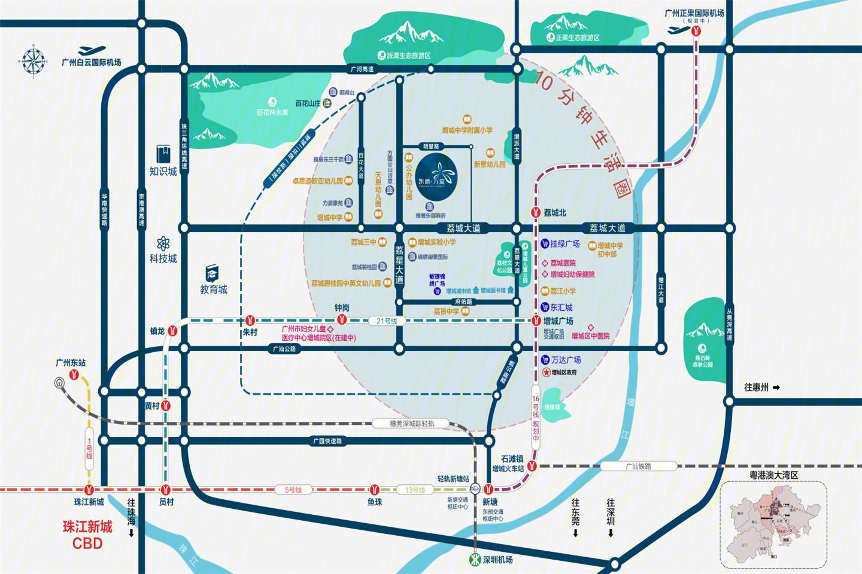 凯德·凯荔花园交通图